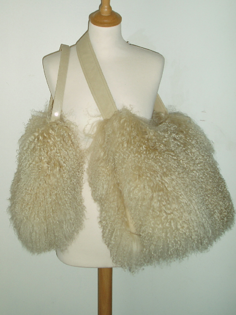Mongolian Sheepskin Handbags